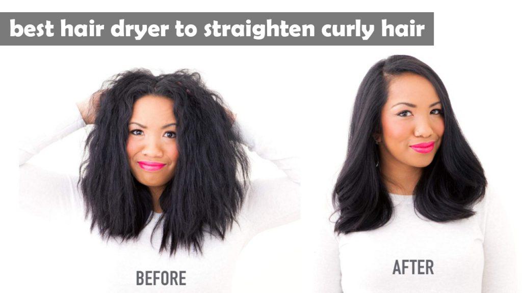best hair dryer to straighten curly hair