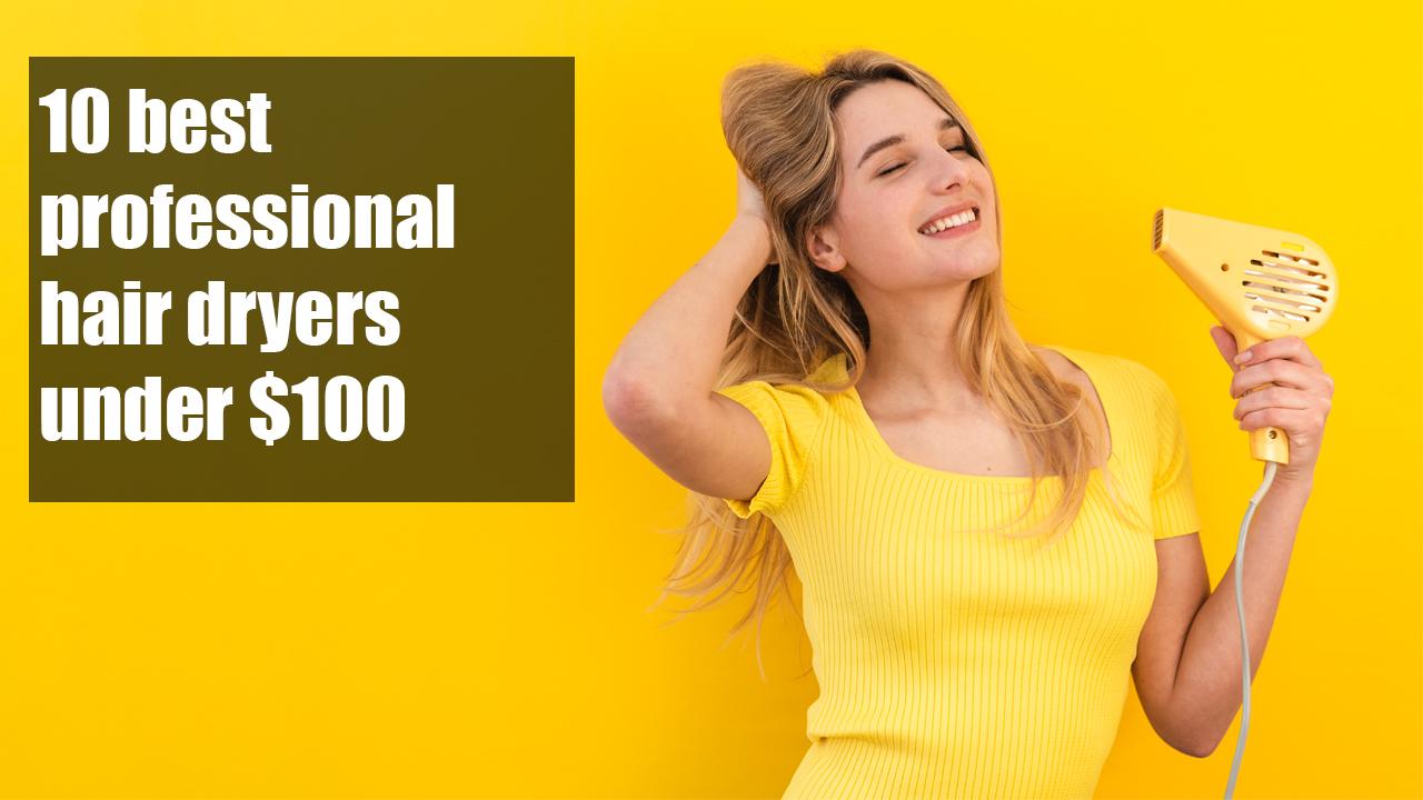Best Professional Hair Dryer Under 100