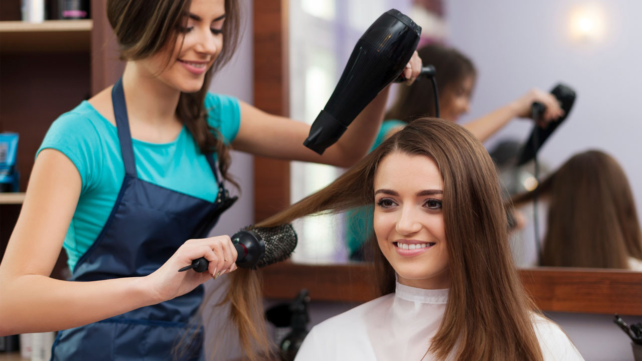 hair dryer used in salons
